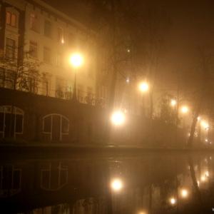Utrecht in the mist