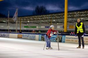 Special Olympics schaatswedstrijden 2014 Alkmaar