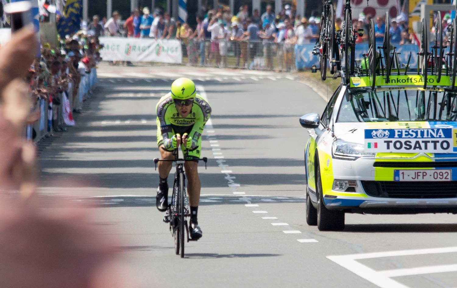 Tour de France 2015 - tijdrit in Utrecht